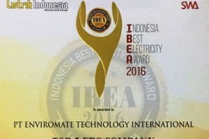 Congratulation ETI Top 5 EPC & Innovation Electricity Company